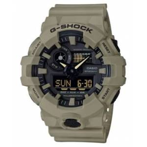 G-Shock Men's Analog-Digital Beige Resin Strap Watch 53mm  - Beige/Black