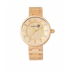 Earth Wood Branch Wood Bracelet Watch Khaki 45Mm  - Khakitan