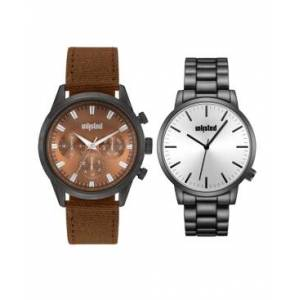 Unlisted Kenneth Cole Unlisted Classic Watch Set, 44MM  - Multi