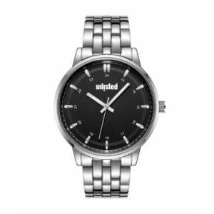 Unlisted Kenneth Cole Unlisted Classic Watch, 45MM  - Silver