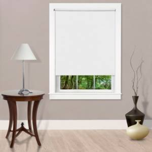 Achim Cords Free Tear Down Light Filtering Window Shade, 73x72  - White