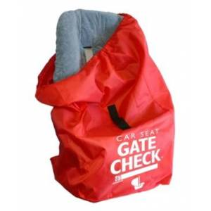 J L Childress J.l. Childress Gate Check Bag For Car Seats  - Red