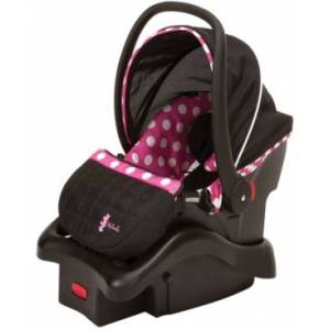 Disney Baby Light 'n Comfy Luxe Infant Car Seat  - Fuchsia