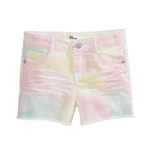 Epic Threads Toddler Girls Tie-Dye Shorts  - Multi Tie Dye