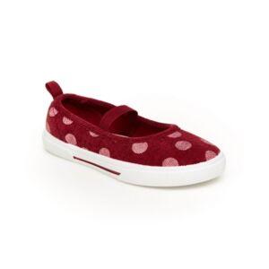 Carter's Toddler Girls Casual Shoe  - Maroon