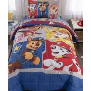 Franco Manufacturing Co Paw Patrol Twin 4-Piece Bed in a Bag Bedding  - Multi