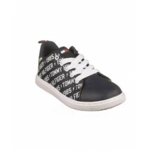 Tommy Hilfiger Toddler, Little and Big Boys Iconic Court Logo Sneakers  - Navy