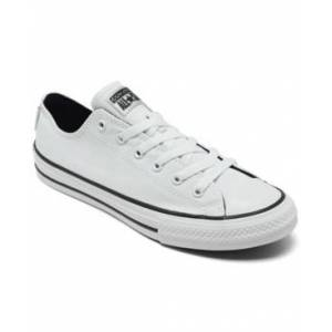 Converse Big Kid's Chuck Taylor All Star Low Top Casual Sneakers from Finish Line  - White, Black