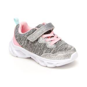 Carter's Toddler Girls Lighted Sneakers  - Gray