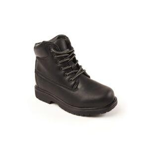Deer Stags Toddler, Little, and Big Boys Mak2 Thinsulate Waterproof Comfort Work boot  - Black