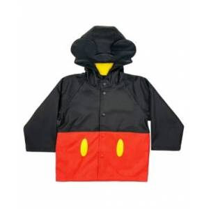 Western Digital Chief Little and Big Boy's Mickey Mouse Rain Coat  - Red
