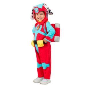 BuySeasons Big Boys Paw Patrol Sea Patrol Marshall Costume  - Red
