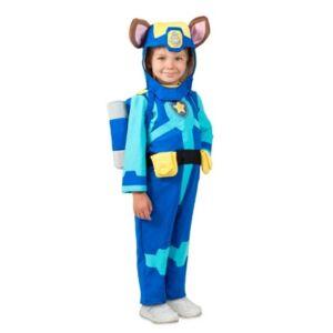 BuySeasons Big Boys Paw Patrol Sea Patrol Chase Costume  - Blue