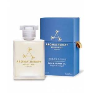 Aromatherapy Associates Light Relax Body Bath and Shower Oil, 55ml