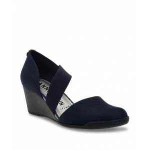 Anne Klein Sport Tara Wedges  - Navy