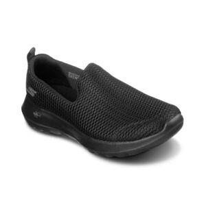 Skechers Women's GOwalk Joy Narrow Slip-on Walking Sneakers from Finish Line  - Black