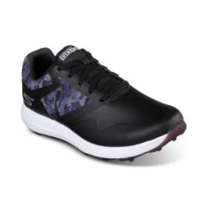 Skechers Women's Go Golf Max Draw Golf Shoes from Finish Line  - BLACK/PURPLE