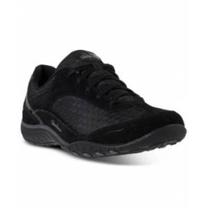 Skechers Women's Relaxed Fit: Bikers - Simply Sincere Casual Sneakers from Finish Line  - BLACK