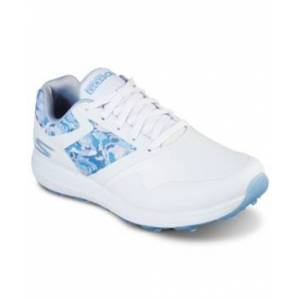 Skechers Women's Go Golf Max - Draw Golf Sneakers from Finish Line  - White, Blue