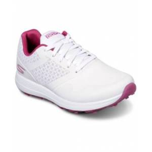 Skechers Women's Go Golf Max Golf Sneakers from Finish Line  - WHITE/PINK