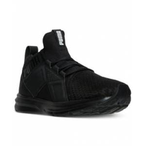 Puma Men's Enzo Casual Sneakers from Finish Line  - Puma Black