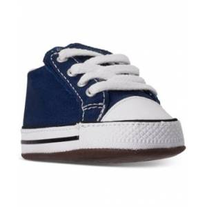 Converse Baby Boys Chuck Taylor All Star Cribster Crib Booties from Finish Line  - NAVY