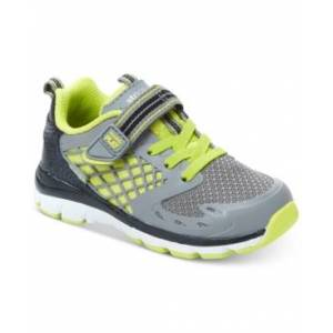 Stride Rite Made2Play Breccen Sneakers, Toddler Boys  - Grey/lime