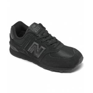 New Balance Big Boys 574 Core Casual Sneakers from Finish Line  - Black