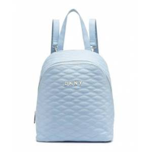 """Dkny Allure 14"""" Quilted Backpack, Created for Macy's  - Light Blue"""