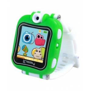 "Linsay 1.5"" Kids Smart Watch Selfie Camera with Hd 90  - Green"