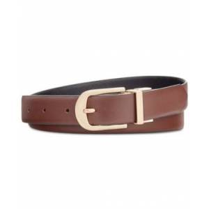 Inc International Concepts Reversible Belt, Created for Macy's  - Brown/Black/Silver