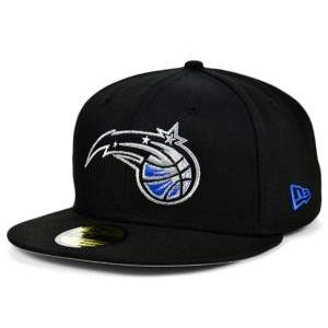 New Era Orlando Magic Basic 59FIFTY Cap  - Black