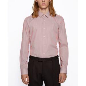 Hugo Boss Boss Men's Eliott Regular-Fit Shirt  - Open Orange