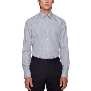 Hugo Boss Boss Men's Jango Slim-Fit Shirt  - Navy