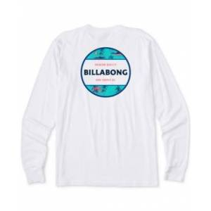 Billabong Men's Rotor Long-Sleeve T-Shirt  - White