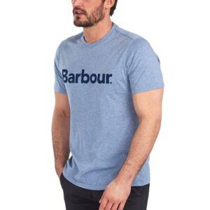 Barbour Men's Logo Cotton T-Shirt  - Chambray