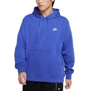 Nike Men's Sportswear Club Fleece Pullover Hoodie  - Astro Blue