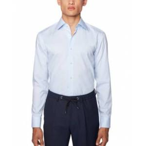 Hugo Boss Boss Men's Jango Light Blue Shirt  - Light Blue