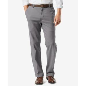 Dockers Men's Big & Tall Easy Classic Fit Khaki Stretch Pants  - Grey