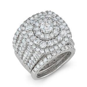 Macy's Diamond Bridal Set (5 5/8 ct. t.w.) in 14k White Gold  - White Gold