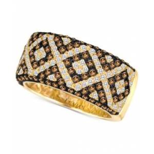 Le Vian Chocolatier Diamond Pave Statement Ring (1-1/3 ct. t.w.) in 14k Gold  - Yellow Gold