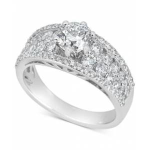 Macy's Diamond Engagement Ring (2-1/4 ct. t.w.) in 14k White Gold  - White Gold