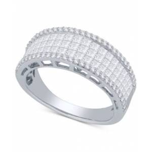 Macy's Diamond Princess Ring (1-1/2 ct. t.w.) in 14k White Gold  - White Gold