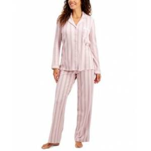 Charter Club Soft Brushed Cotton Pajama Set, Created for Macy's  - Baroque Stripe