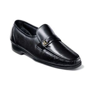 Florsheim Men's Riva Moc Toe Loafer Men's Shoes  - Black