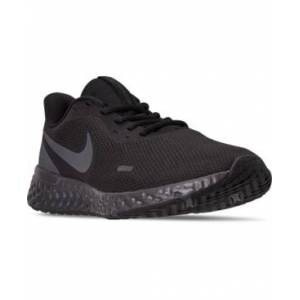 Nike Men's Revolution 5 Wide Width Running Sneakers from Finish Line  - Black, Anthracite