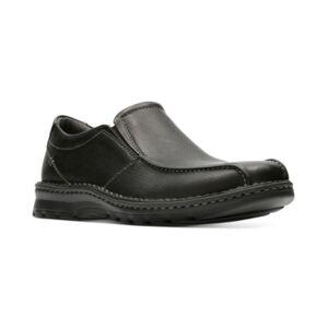 Clarks Men's Vanek Step Loafers Men's Shoes  - Black