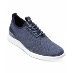 Cole Haan Men's Grand Plus Essex Distance Knit Oxford Men's Shoes  - Vintage-like Indigo