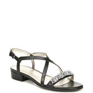Naturalizer Macy Slingback Sandals Women's Shoes  - Black
