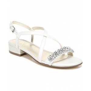 Naturalizer Macy Slingback Sandals Women's Shoes  - White Pearl